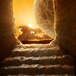 Pasen, het centrale en cruciale thema in heel de Bijbel is de opstanding van de HEERE Jezus Christus uit de dood.
